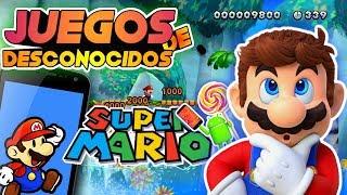 Juegos de Mario que Quizás no Conocias !! mejores juegos mario android!