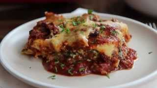 Pasta Recipes - How To Make Deep Dish Lasagna