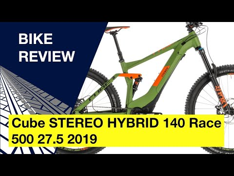Cube STEREO HYBRID 140 Race 500 27.5 2019: Bike Review