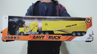 Big Size Heavy RC Truck Unboxi…