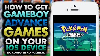 How To Get GBA Games on your iOS Device! 8.3 & ↓ (NO JAILBREAK) (NO COMPUTER) iPhone iPad iPod Touch
