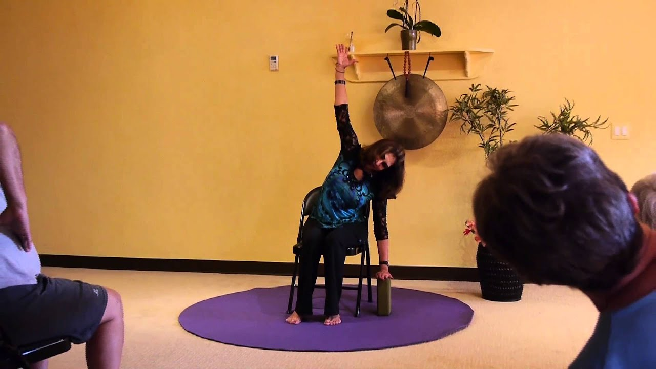 1 Hr Chair Yoga class Bringing Breath and Vitality to Seniors