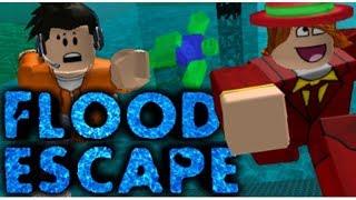 🔴 Flood Escape & Flood Escape 2 I Roblox 🔴
