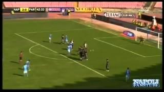 Napoli-Parma 3-1 Auriemma Ampia Sintesi HQ - 16-09-2012