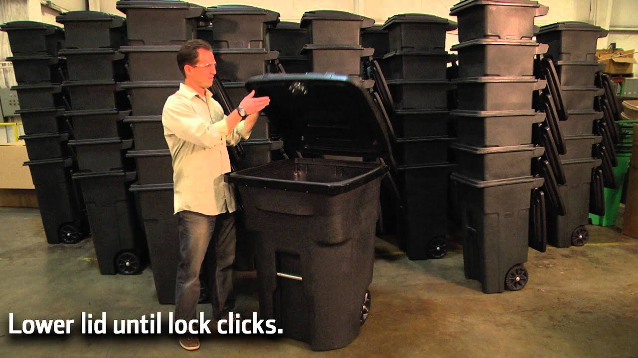 Bear Resistant Trash Cans | Toter