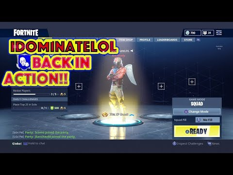 WE DOMIN' PEOPLE OUT HERE !! | FORTNITE GAMEPLAY | IDOMINATELOL