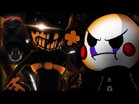 Marionette Plays: Bendy and The Ink Machine Chapter 3 for the Third Time
