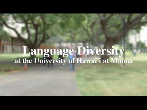 Language Diversity at the University of Hawai'i at Mānoa