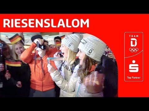 Silber und Bronze für Jörg und Hofmeister im Snowboard Riesenslalom   Team Deutschland