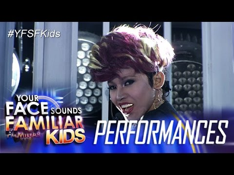Your Face Sounds Familiar Kids: Awra Briguela as Vice Ganda - Boom Panes