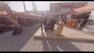 360-Degree Video: Zeppelin Cat® Beer Garden at bauma Munich