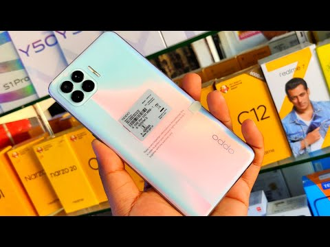 Oppp F17 Pro Metallic White Unboxing &  review In Hindi !! Oppo F17 Pro Price 21490 Rupees 🔥🔥🔥