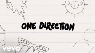 One Direction - What Makes You Beautiful (Lyric Video) thumbnail