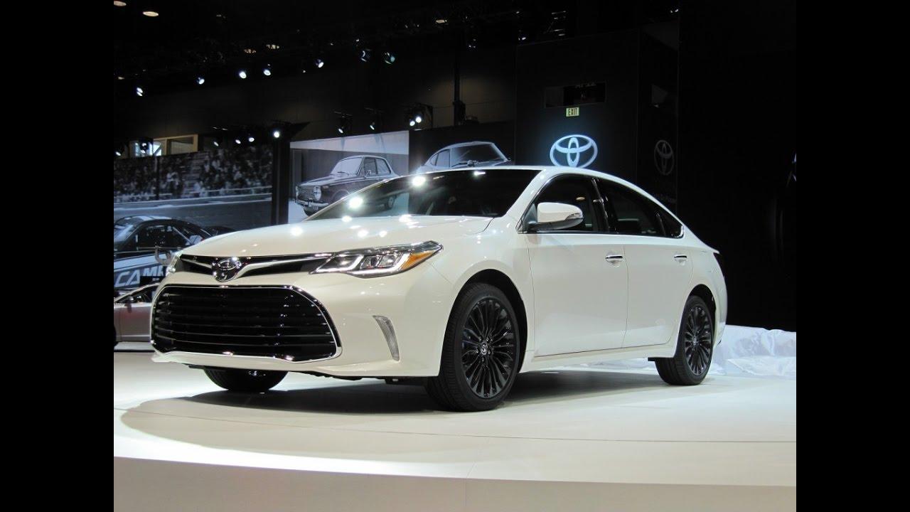 2017 Toyota Avalon Touring Review Exterior Design Sporty Interior