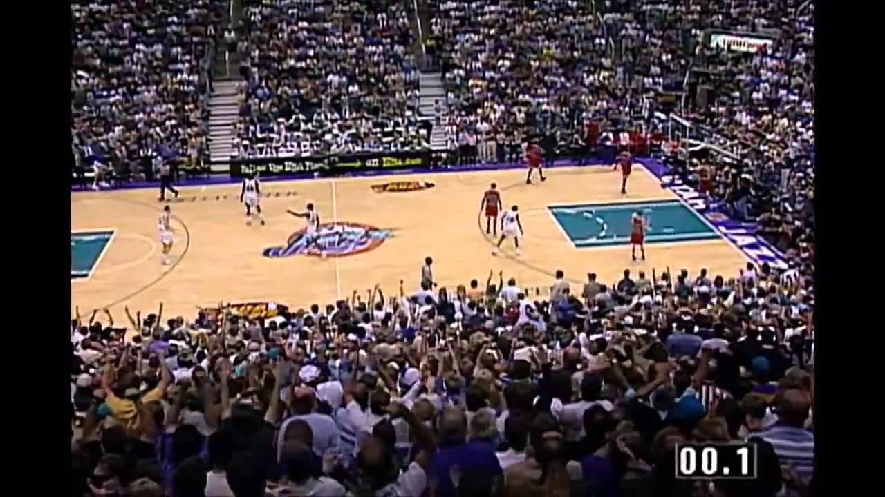 1998 Nba Finals Chicago Vs Utah Game 6 Best Plays Youtube