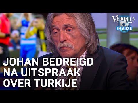 Johan met de dood bedreigd na 'Turkije is een kutland'-uitspraak   VERONICA INSIDE