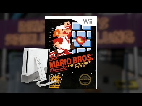 Gameplay : Super Mario Brothers [WII Virtual Console]