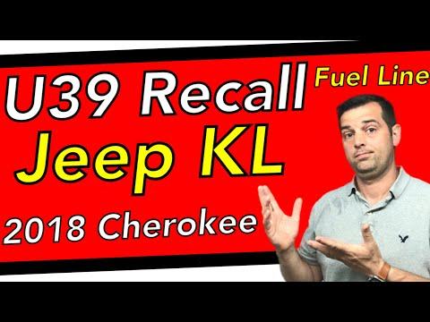 U39 Fuel line Recall * 2018 Jeep Cherokee KL Recall *