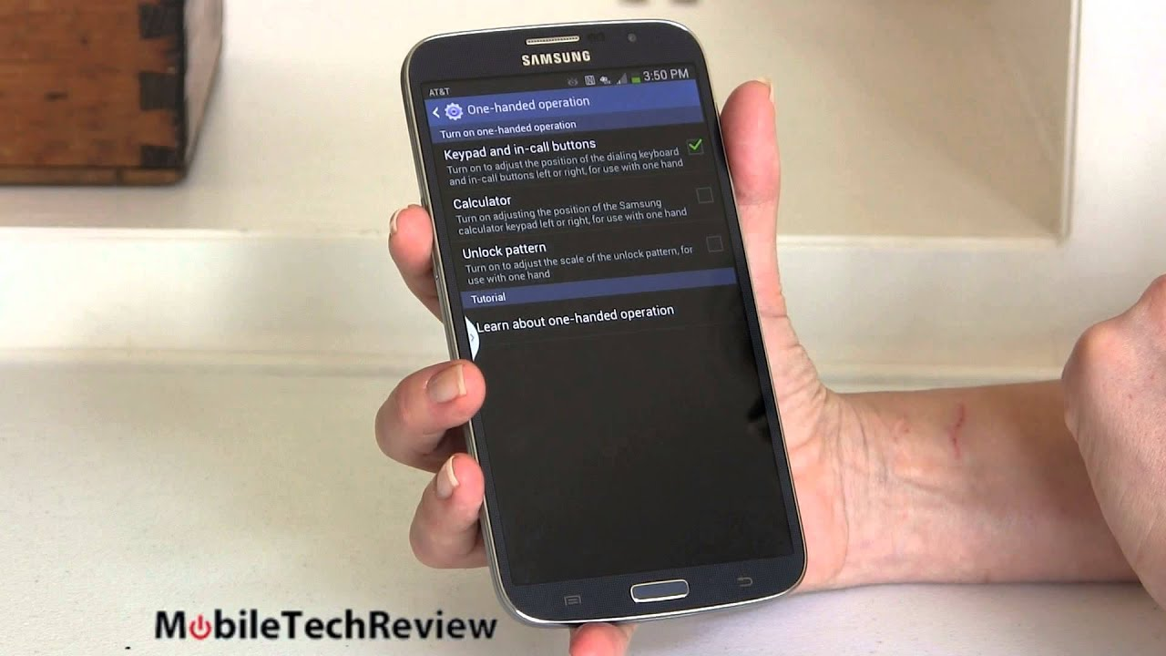 Samsung Galaxy Note 3 vs Galaxy Mega 5.8: Quick Look - YouTube