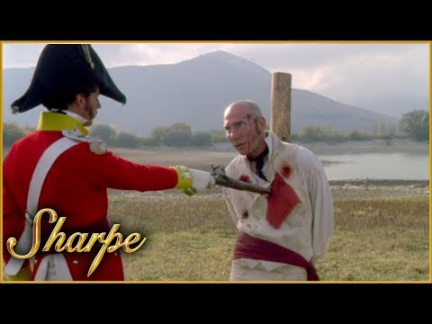 Sharpe Puts  Obadiah Hakeswill To The Firing Squad | Sharpe