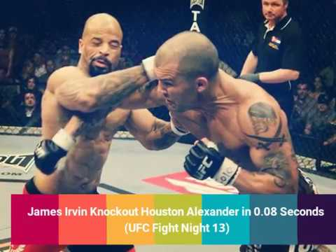 Top 8 Fastest Knockouts in UFC History