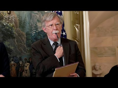 The Point: Is John Bolton&39;s exit good news for China?