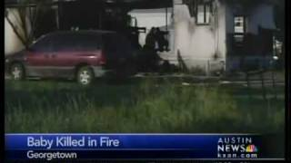 Baby killed in fire