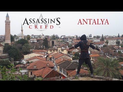 ASSASSİN'S CREED ANTALYA GERÇEK HAYAT (POV PARKOUR)
