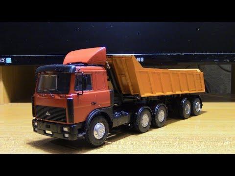 Сборка модели МАЗ 6422 с ПП МАЗ 9506 20 AVD Models