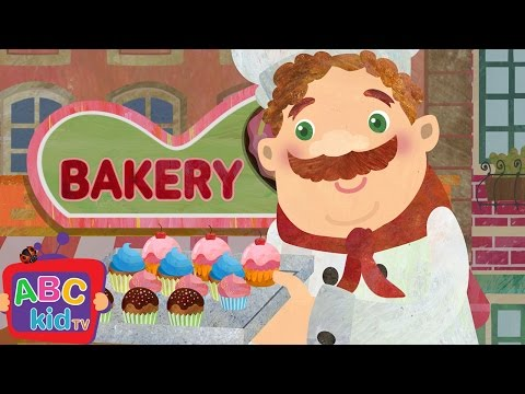 Muffin Man   Nursery Rhymes - ABCkidTV