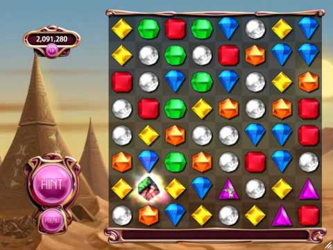 Bejeweled 3 - Classic Longplay part 1 (Level 1-32)