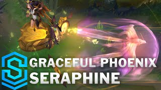 Graceful Phoenix Seraphine Skin Spotlight - Pre-Release - League of Legends