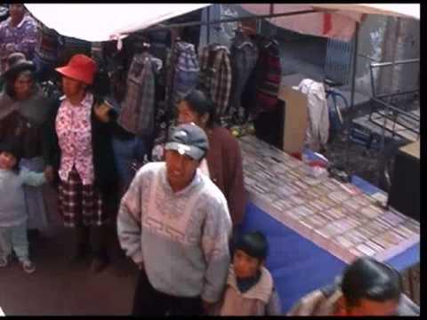 The train from Lake Titicaca to Cusco, Peru: Juliaca Market