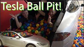 Tesla Ball Pit Prank!!! Best Day Ever!