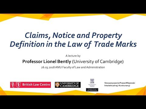 Claims, Notice and Property Definition in the Law of Trade Marks
