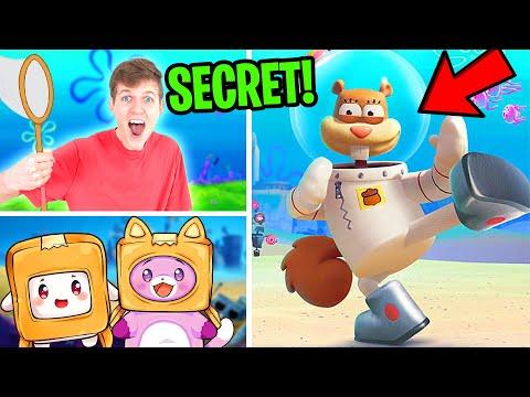 Can We Unlock The SECRET CHARACTERS In SPONGEBOB BATTLE FOR BIKINI BOTTOM?! (SANDY CHEEKS!) |