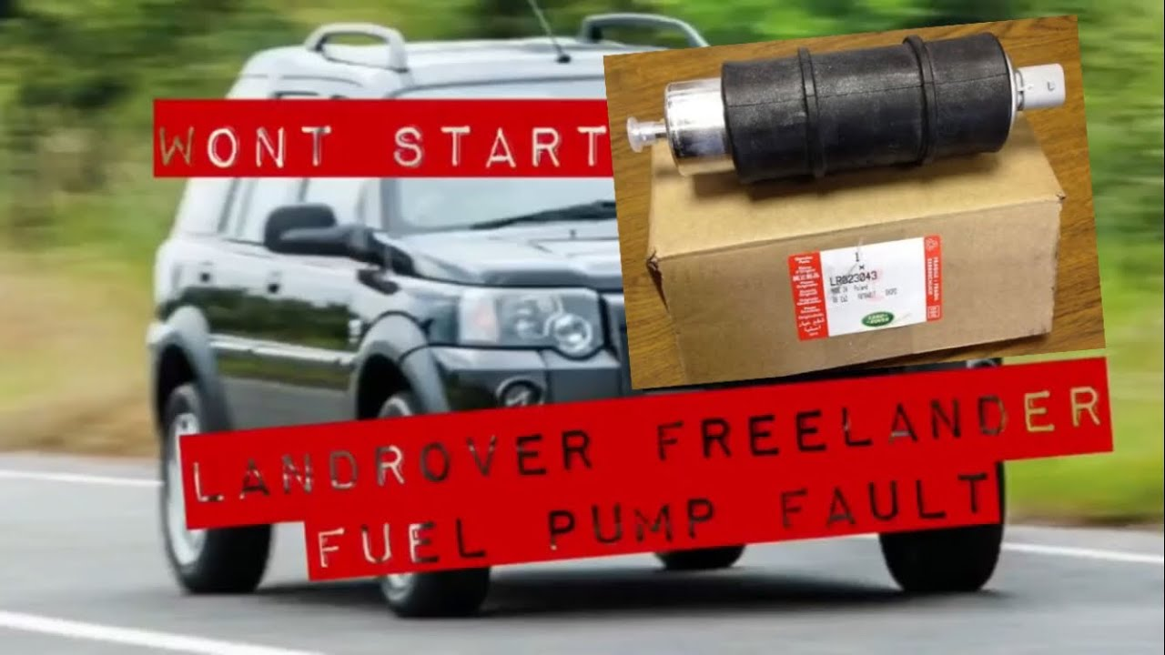 Land Rover Freelander Fuel Pump Fault Td4 How To Replace Won 2 Wiring Diagram Wont Start