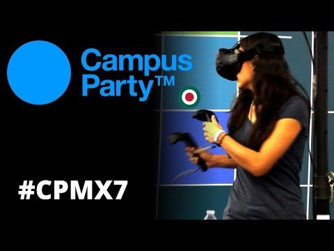 CAMPUS PARTY 2016 GDL DIA 1