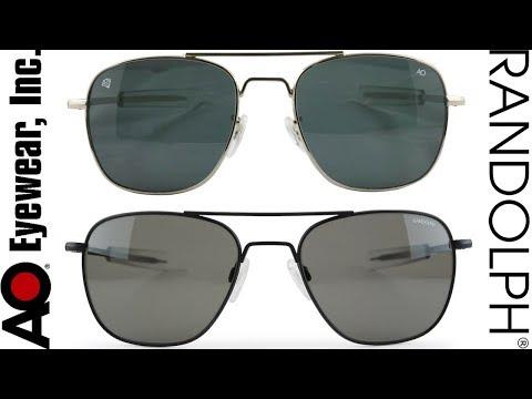 Randolph Engineering Vs. American Optical Sunglasses