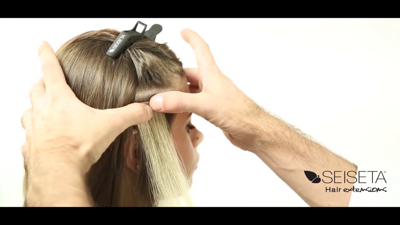 Sticker Hair Extension System Youtube