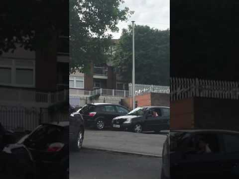 Somali lad getting stabbed by Kurds in Burngreave in Sheffield