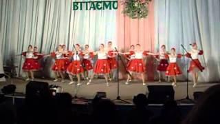 Русский танец в современном стиле(Глухов, школа №3)