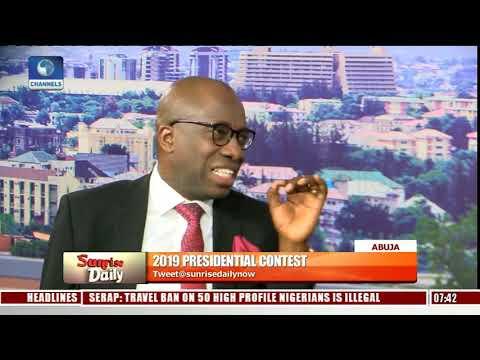 2019: Buhari, Atiku Campaign Spokespersons In Direct Criticism Of Flagbearers Pt.2 |Sunrise Daily|