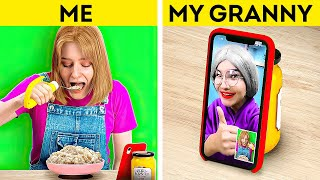 My GRANNY Loves IT! TikTok Trends, New Gadgets and Cool Hacks by 5-Minute Crafts LIKE