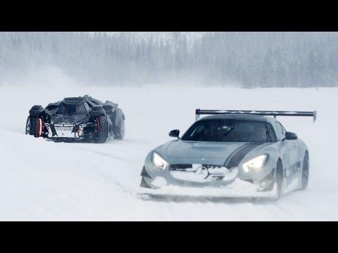 Drifting With Jon Olsson and The Batmobile
