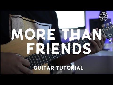 Jason Mraz//More Than Friends (feat. Meghan Trainor) [Guitar Tutorial]