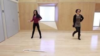 Umbrella Dance Choreography Practice One