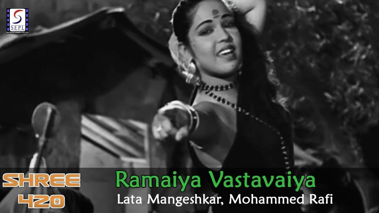 Download Ramaiya Vastavaiya - Lata Mangeshkar, Mohammed Rafi @ Shree 420 - Raj Kapoor, Nargis