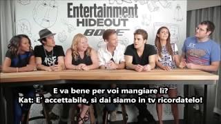 The Vampire Diaries Comic-Con 2014 Interview SUB ITA (EW)