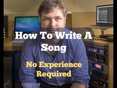 How to write a song part 1 (Getting started)